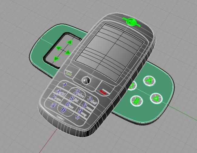 手机 犀牛/手机犀牛建模