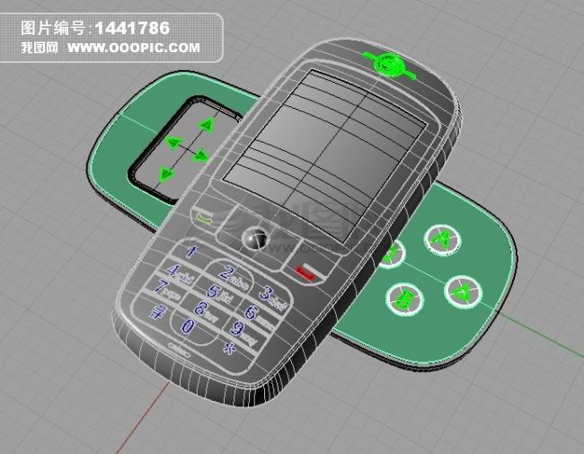 手机犀牛建模模板下载(图片编号:1441786)