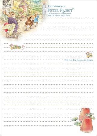 手绘童话笔记本信纸010