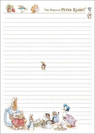 手绘童话笔记本信纸011