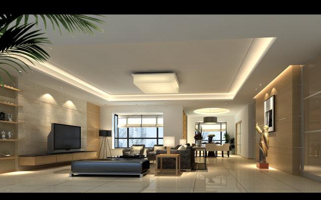 效果图 设计/[版权图片]室内设计客厅设计效果图制作