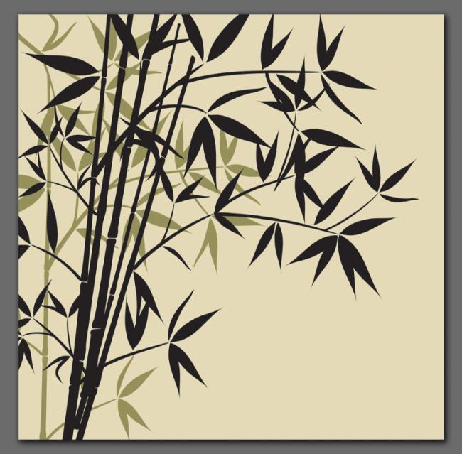 装饰图案-竹模板下载 装饰图案-竹图片下载