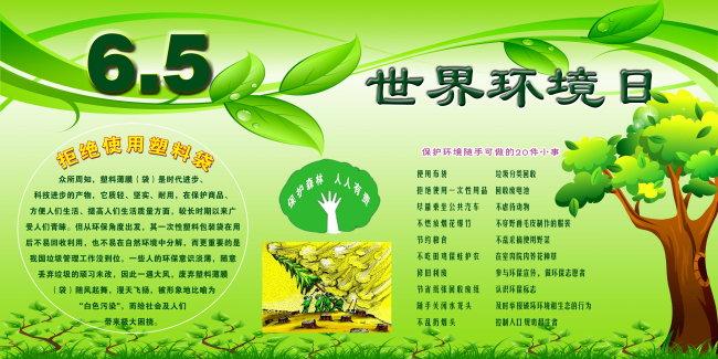 环境日 保护地球