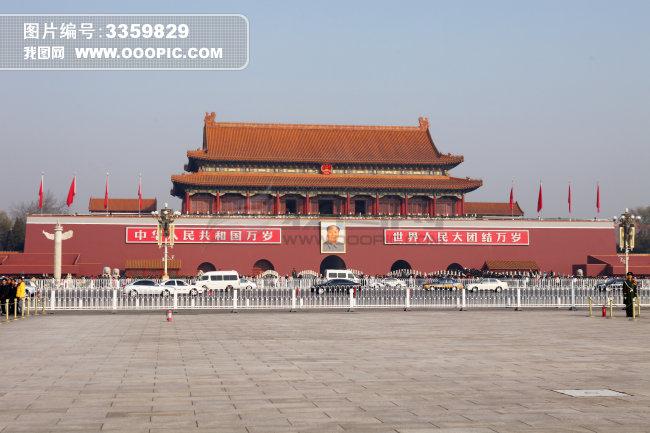 城市风光 古建筑 标志建筑 历史建筑 北京 天安门广场 传统文化 标准