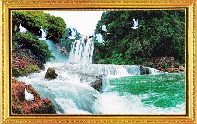 山水风景画图片下载山水画风景画山水风景中堂自然