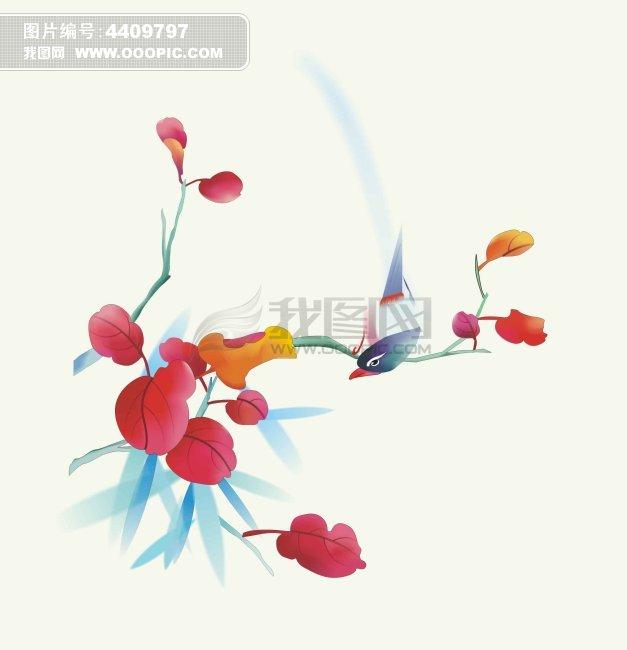 中国风手绘元素