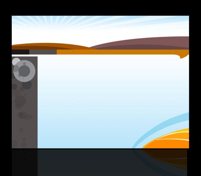 展板背景样式psd分层源文件图片