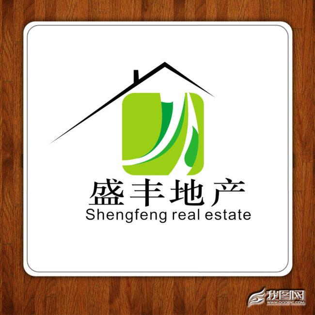 logo 建筑 房产/[版权图片]房产建筑logo