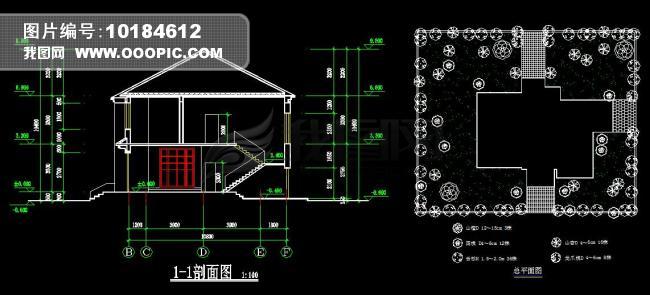 别墅设计图纸模板下载(图片编号:10184612)