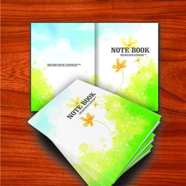 笔记本 笔记本封面 本本设计 笔记本设计 记事本 封面设计 梦幻 儿童