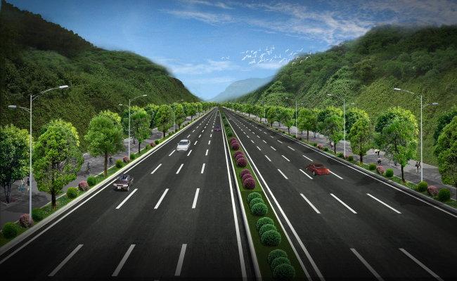 平面设计 其他 其它 > 道路景观效果图  下一张> [版权图片]