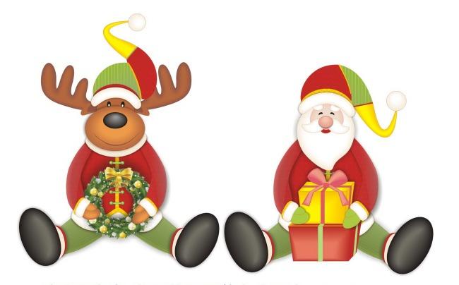 圣诞节素材 礼品 饰品工艺