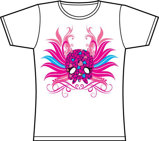 t恤衫印刷图案模板下载(图片编号:10207585)