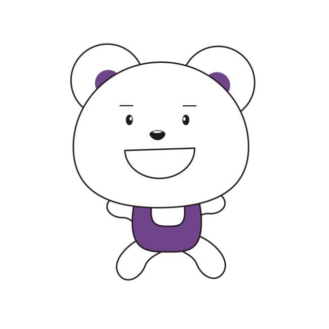 可爱笨笨熊