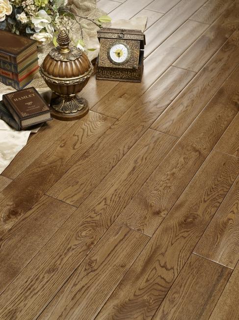 木地板产品情景高精图片栎木铺装效果