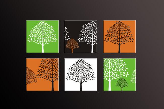 多彩森林模板下载(图片编号:10224988)_其他无框画_无图片