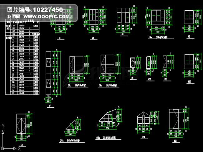 小型别墅全套施工图模板下载 10227450 其他CAD图纸 CAD图纸