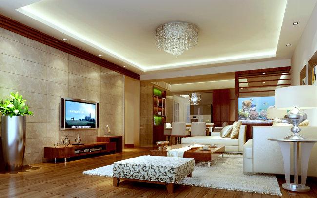 中式客厅设计效果图
