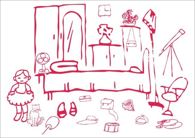被子的简笔画图片_被子打开的简笔画图片