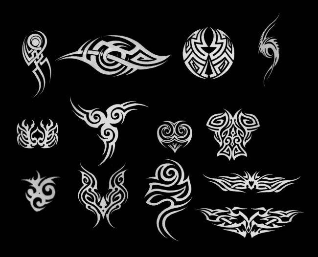 纹身笔刷模板下载 纹身笔刷图片下载