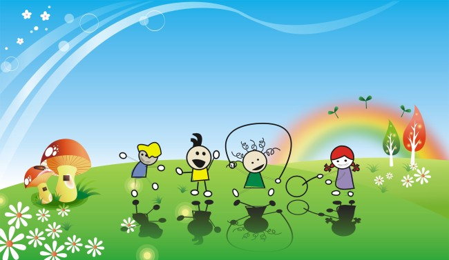 六一儿童节漫画图片