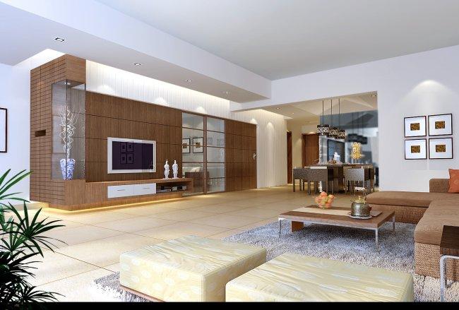 高档客厅设计效果图