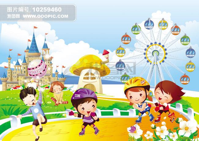 六一儿童节幼儿园海报素材设计