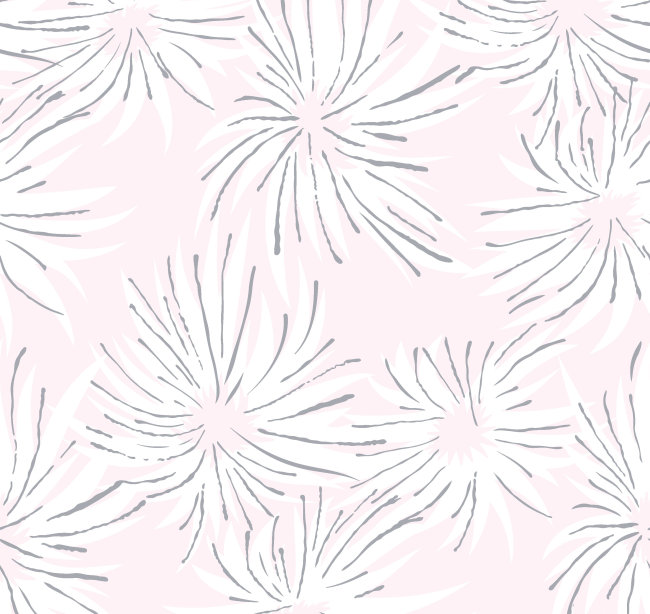 手绘松针图案设计