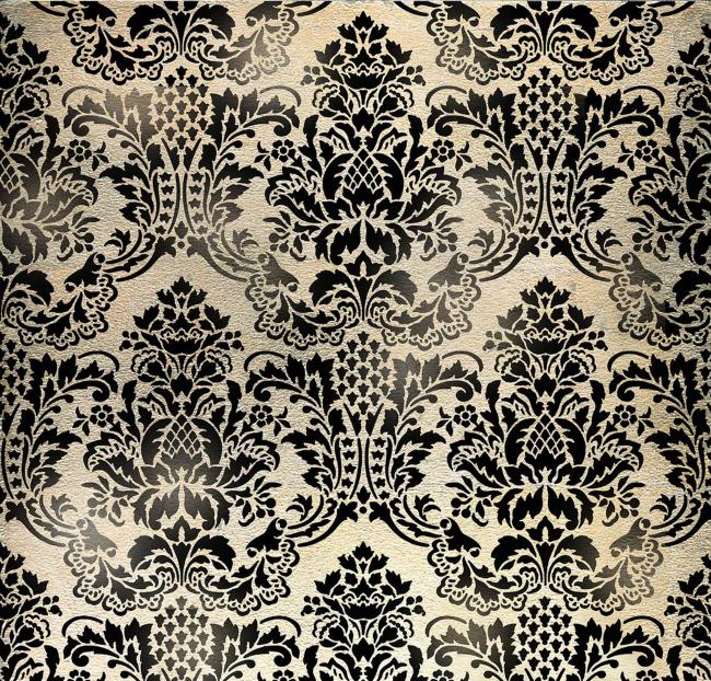 墙纸 花纹 纺织 欧式花纹图片