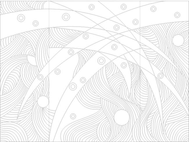 手绘插画线条元素