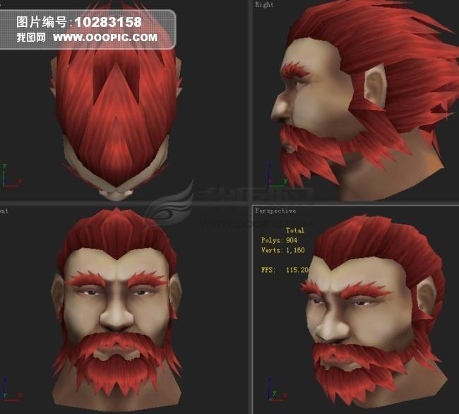 图片下载 游戏模型 人物头部图片