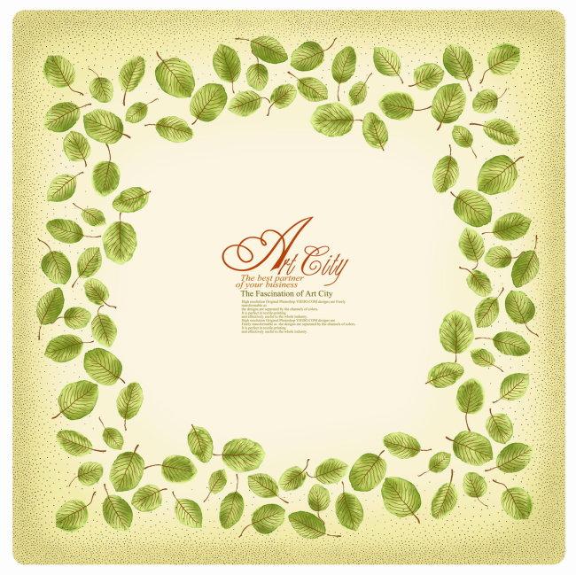 欧式刺绣植物图片