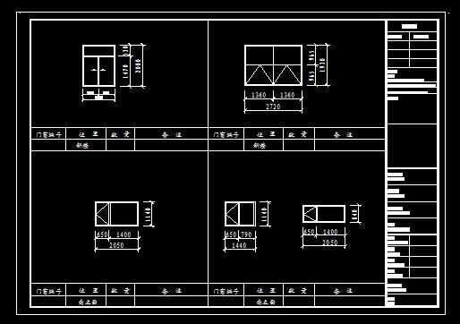 autocad图纸模板