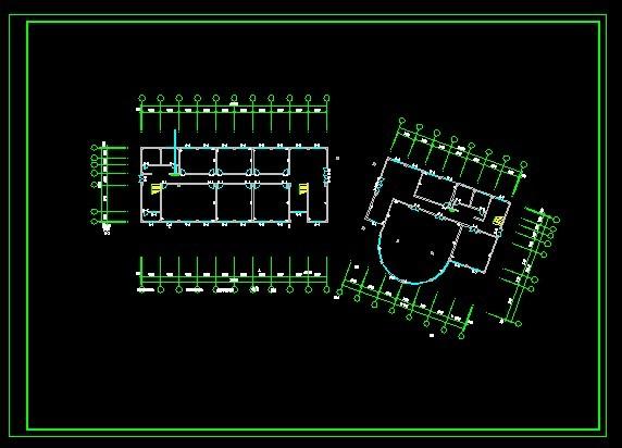 cad平面图模板下载 cad平面图图片下载