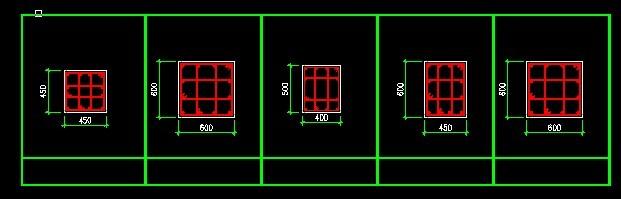 cad钢筋图模板下载 cad钢筋图图片下载
