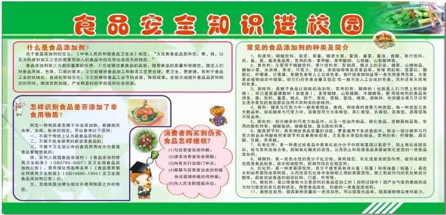 食品安全知识进校园 预防食物中毒