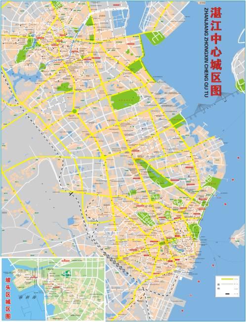 湛江坡头区官渡镇地图