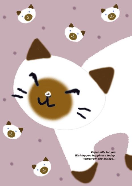 16k本本封面设计 可爱小动物002