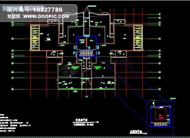 cad建筑图 cad室内平面图