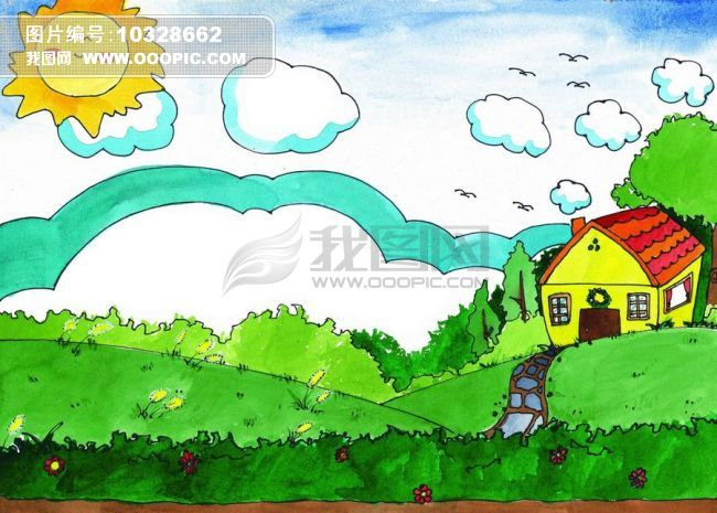 美丽儿童画图片素材(图片编号:10328662)
