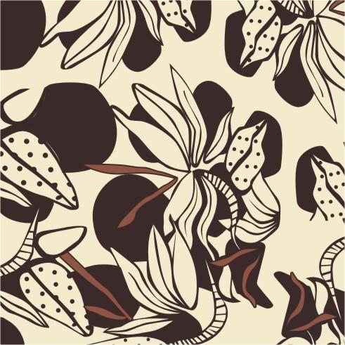 平面设计 其他 插画|元素|卡通 > 布料印花 香蕉树  下一张&gt