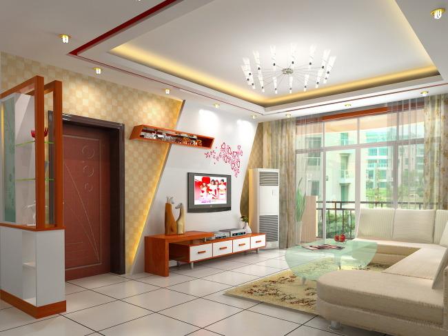 设计 电视/[版权图片]室内3DMAX设计电视装饰墙