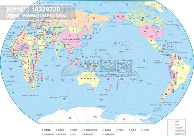 世界地图马尔代夫国家_