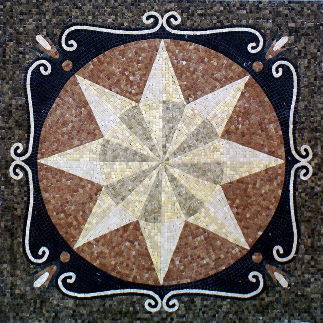 源文件; 大理石马赛克 拼花 石材工艺-大理石贴图-室内装饰|无框画图片
