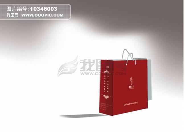 手提袋设计素材模板下载 10346003 我图网www.ooopic.com