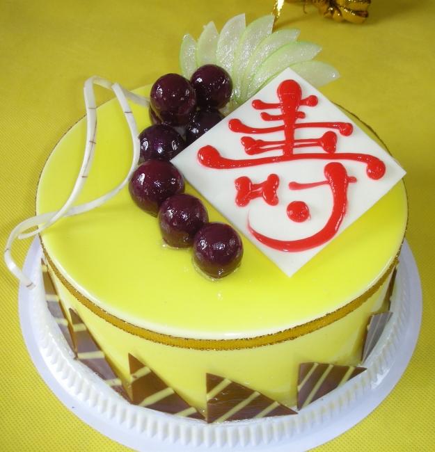 精美欧式祝寿蛋糕图片图片