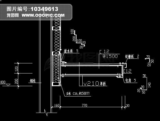 cad节点图怎么画_CAD节点图模板下载图片编号10622257_CA