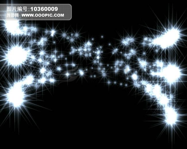 动态视频素材 > 漂亮粒子特效流星飞舞视频素材