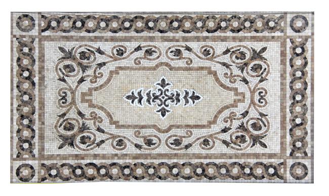马赛克拼图 地面拼花 地面砖 图案花纹 花纹图案 贴图素材 欧式图案图片