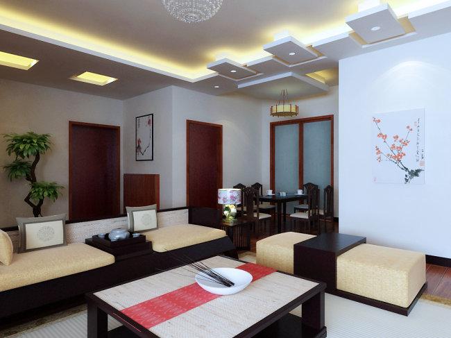 3d 3dmax 模型 室内设计 高模 单身公寓 套房 复式 别墅 家装 工装